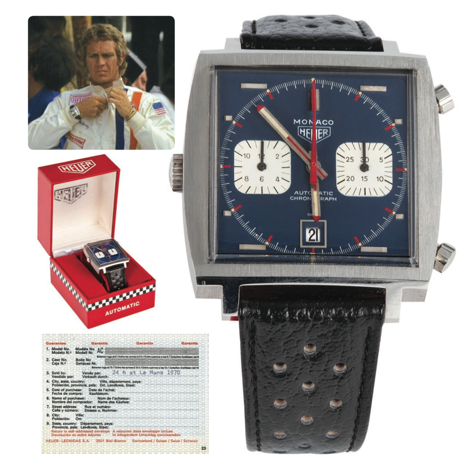 Sell Used Tires >> Results from the Steve McQueen/Le Mans Memorabilia Auction | FLATSIXES