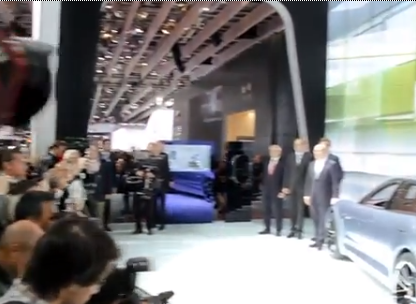 Behind the Scenes at the Paris Premier of the Panamera Sport Turismo