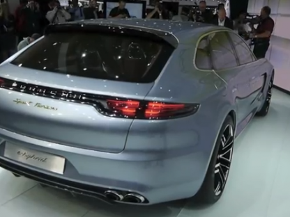 Pictures, Details, Video and Specifications of the Panamera Sport Turismo Concept