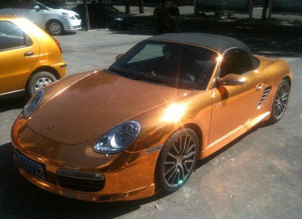 porsche-boxster-gold-china-1