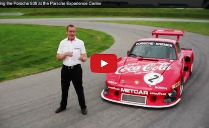 Testing the Porsche 935 at the Porsche Experience Center [Video]