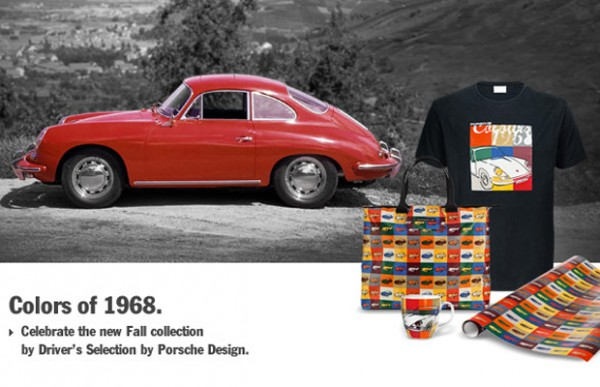 Colors of 1968 Collection Porsche Design Driver's Selection