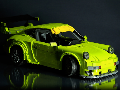 A RAUH-Welt Begriff Porsche Made from Legos