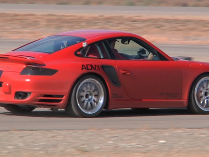 1500hp Porsche Hits 215 mph in the Qatar 'Half-Mile'