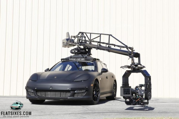 porsche panamera camera car by chase cars inc