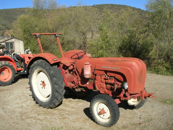 1960 Porsche Diesel Super Tractor Type 329 for sale