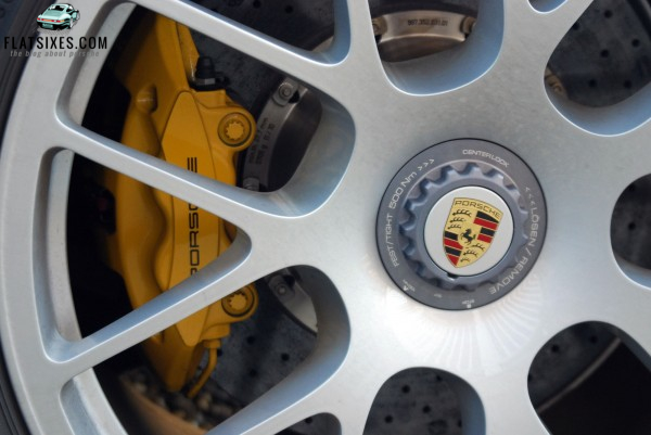 Porsche Ceramic Composite Brakes on a 2011 Turbo S