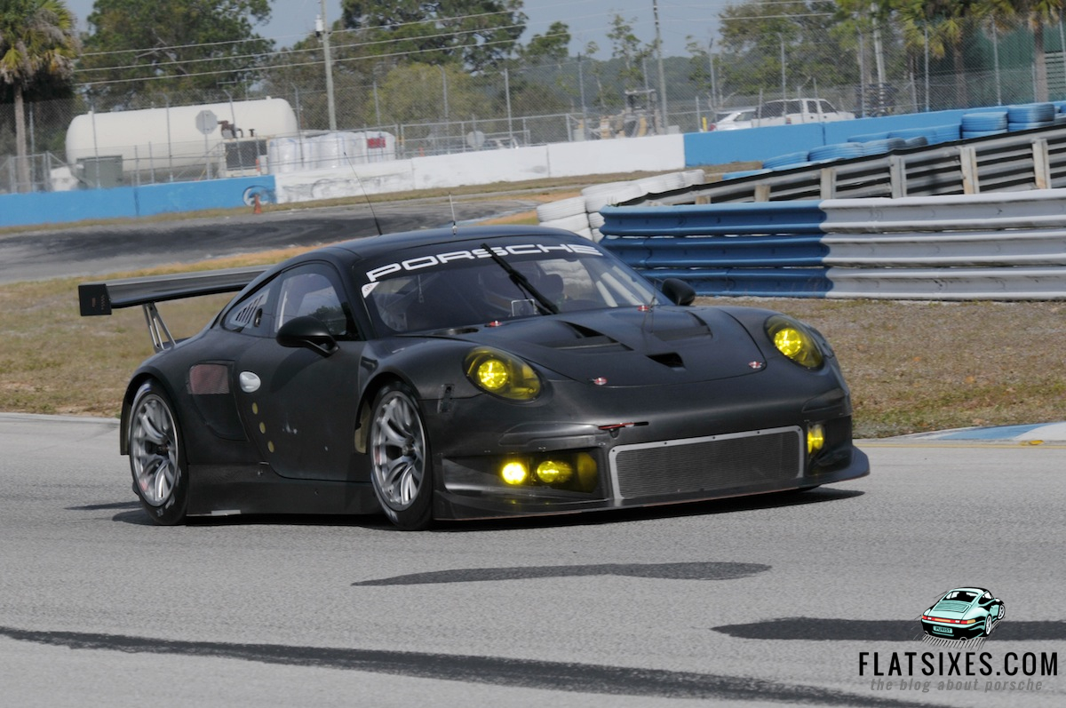 Pictures And Details Of The New Porsche 991 Rsr Testing At