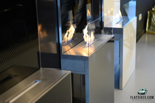 Porsche design fireplace