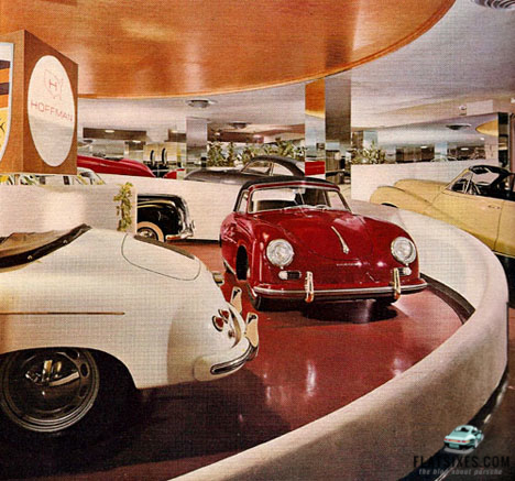 Frank Lloyd Wright Designed Hoffman Porsche Dealership In