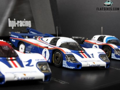 This 1/43 Porsche 956 from HPI Racing may be the Start of a Whole New Obsession