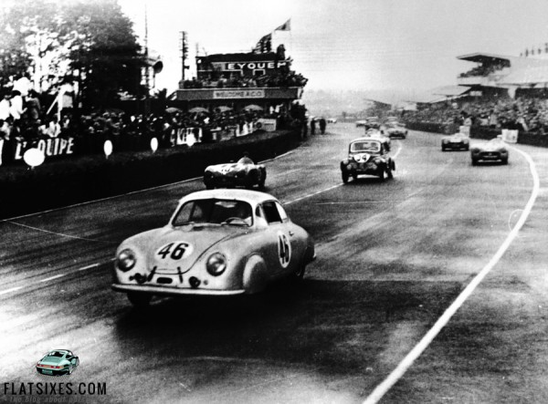 Porsche 356 takes 1st in class at Le Mans 1951