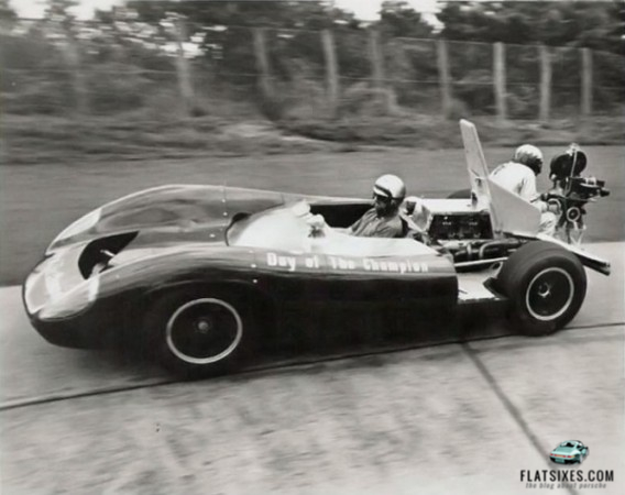 steve mcqueen day of the champion camera car