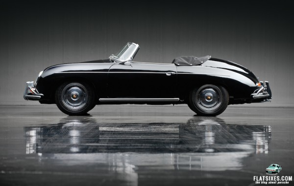 1959 Porsche 356A 1600 Super Convertible D by Drauz