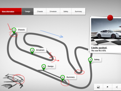The 2014 Porsche 911 GT3 Microsite is a Wealth of Information and Great Video