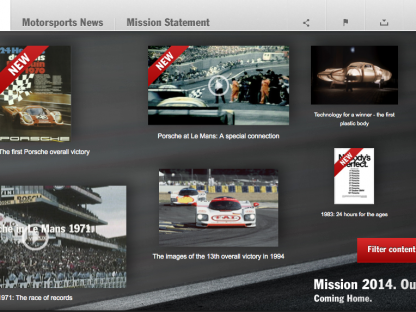 Have You Seen The New Porsche 2014 Le Mans Microsite?