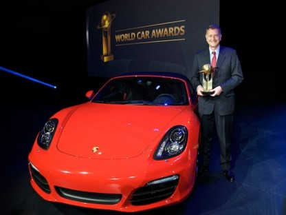 Porsche Takes Top Honors in the World Car Awards at the NYIAS