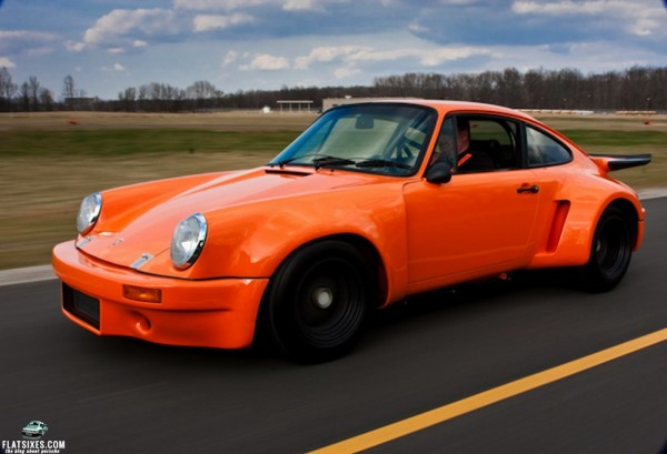 How Ron Thomas Built A Replica Of The 1973 911 Rsr That