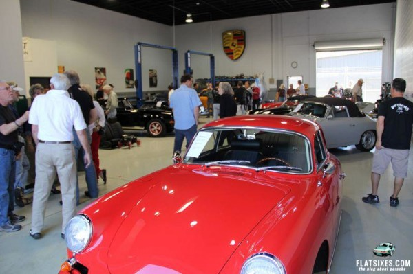 356s on display at Willhoit Enterprises