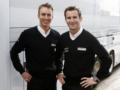 Look Who's Driving for Porsche at Le Mans in 2014