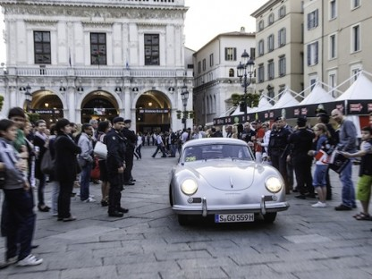 The Porsche Museum Hits the Road with Hans-Joachim Stuck in a Porsche 356 at the Mille Miglia