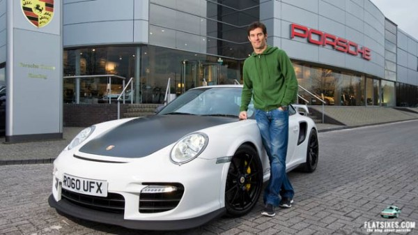 mark webber joins Porsche