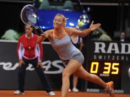 Pictures and Story as to Why Maria Sharapova's Going to Need a Bigger Garage