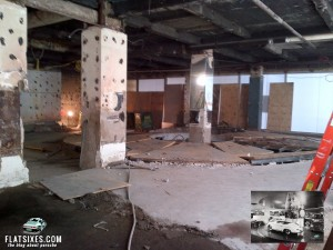 Frank Lloyd Wright Porsche Showroom Now Gutted