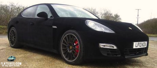 suede velvet wrapped porsche panamera. Black Bedroom Furniture Sets. Home Design Ideas