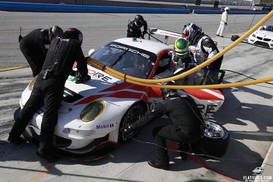 Porsche S Results And Pictures In The Alms At Mazda Raceway Laguna Seca Flatsixes
