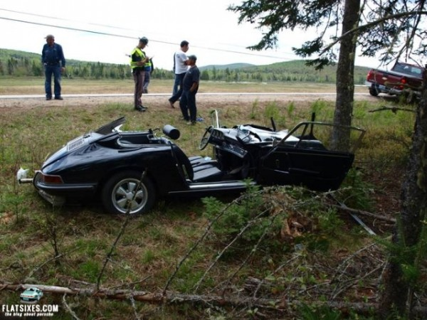 Porsche1.Porsche crash dummer nh george gate
