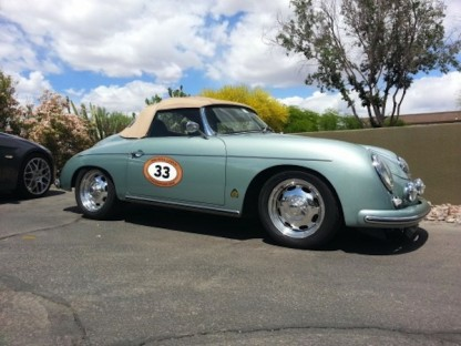 330hp Subaru-Powered 1959 356 Convertible D Open Road Racer