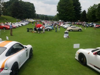 Pictures From the Concours at the PCA Parade in Traverse City, Michigan