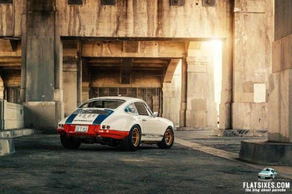 Magnus Walker's Porsche 911 STR II for sale at Gooding Auction