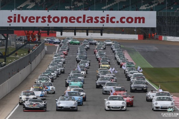 It was a record-breaking day for the Porsche 911 at Silverstone
