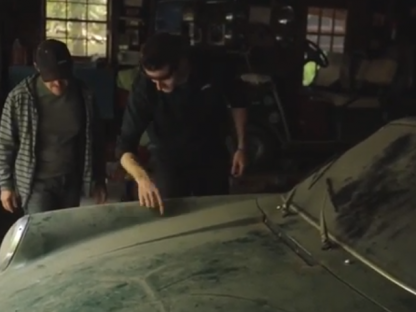 Watch as The Paint on This Barn Find Porsche 912 is Brought Back to Life