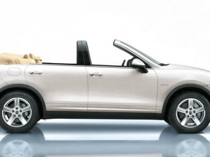 NCE Take the Top off a Porsche Cayenne