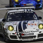 Porsche01.2013- ALMS- Road America- Alex Job Racing- Overhead