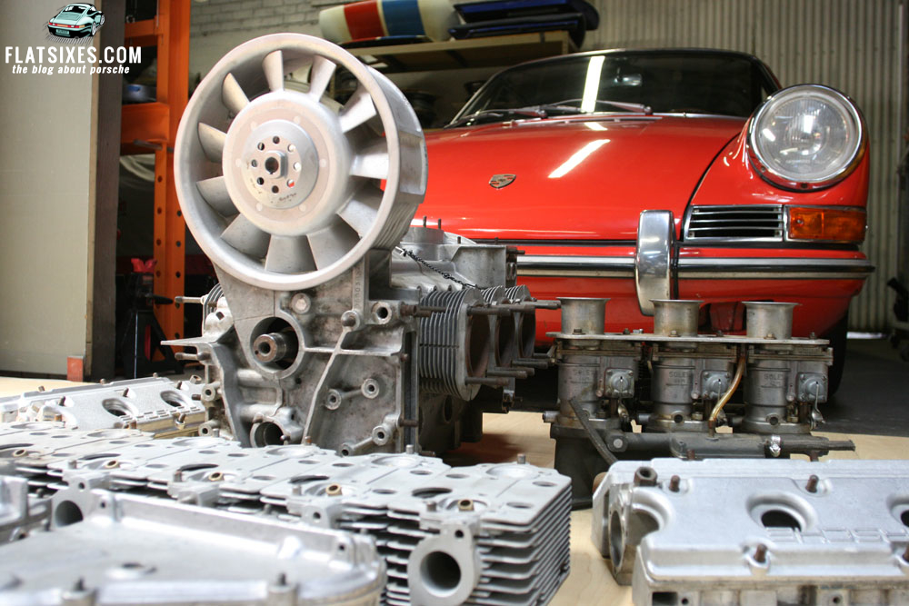 Karma Brings Magnus Walker S Porsche And Original Engine