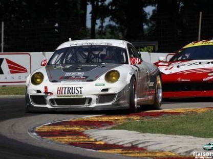 Porsche's Results in the GRAND-AM at the SFP Grand Prix at Kansas Speedway