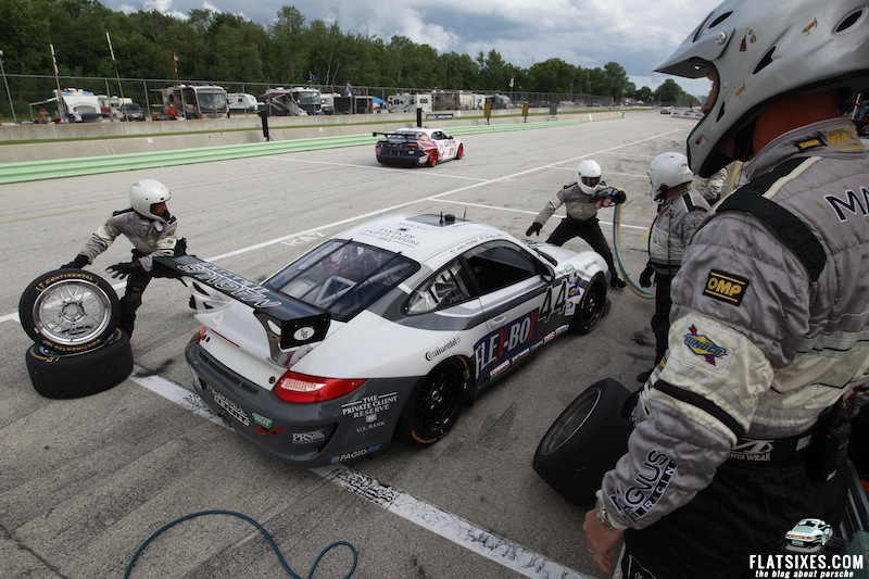 Porsche S Pictures And Results From The Grand Am At Road