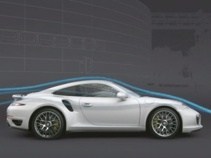 The New Porsche 911 Turbo is a Shape Changer Thanks to Active Aerodynamics