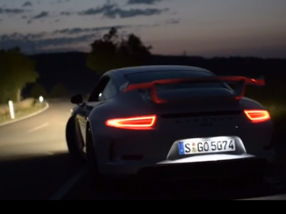 Porsche 911 GT3 – Feast for the Senses Video