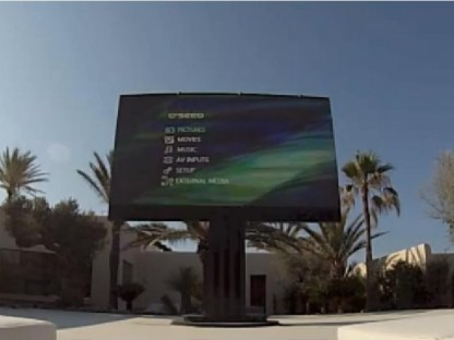 Porsche Design C'SEED 201 Television Installed in Ibiza, Spain