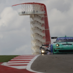 2013- ALMS- Austin- No17 Team Falken Tire Porsche with COTA Tower05