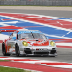 2013- ALMS- Austin- No44 Flying Lizard Porsche Under Braking13
