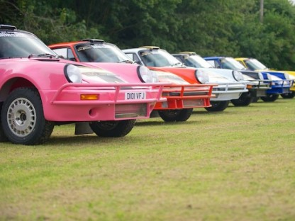 Tuthill Porsche builds 911s for the East African Safari Classic Rally