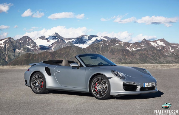 2014 Porsche 911 Turbo Cabriolet side