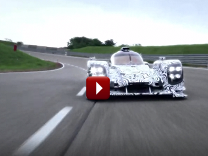 The Porsche LMP1 Prototype is now Testing on International Circuits Video and Info