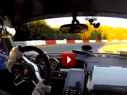 Onboard with Mark Lieb During the Porsche 918 Syper's Record Lap of the Nürburgring